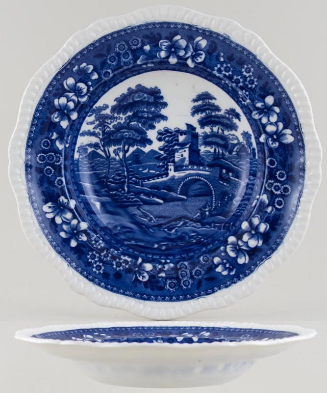 Spode Tower Soup Plate c1916