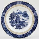 Royal Tudor Chinese Gardens Plate c1980s