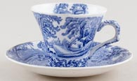 Unattributed Maker Unidentified Pattern Teacup and Saucer c1920