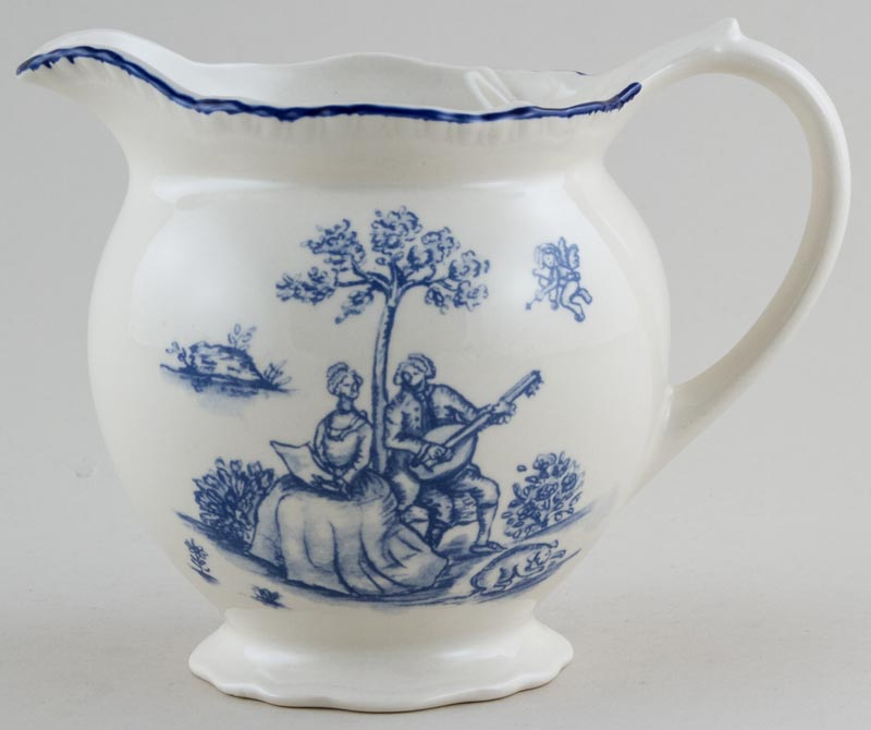 Woods Toile de Jouy Jug or Pitcher