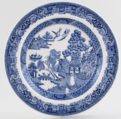 Wedgwood Willow Plate c1950s and 1960s