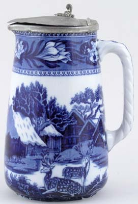 Wedgwood Fallow Deer Jug or Pitcher Hot Water c1922