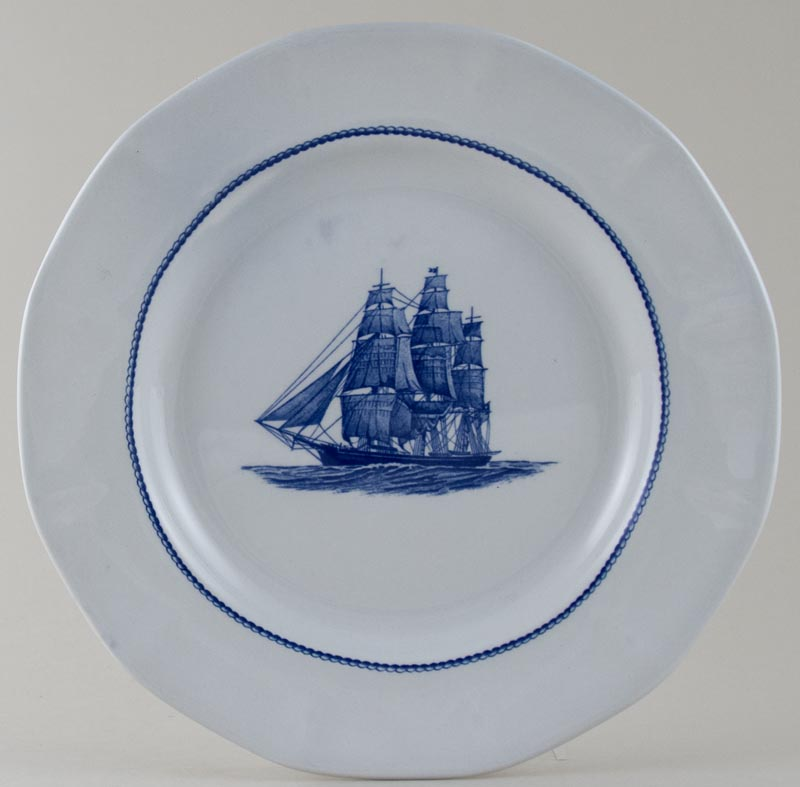 Wedgwood American Clipper Plate Flying Cloud c1980