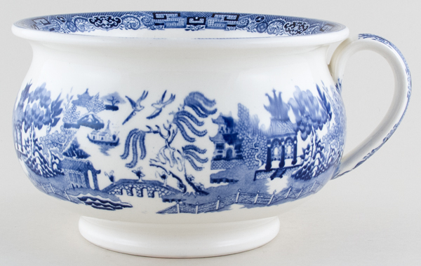 Wedgwood Willow Chamber Pot c1925