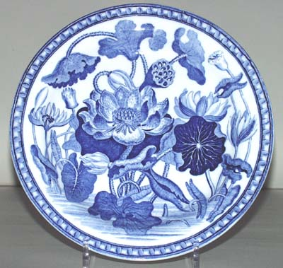 Wedgwood Water Lily Plate c1815