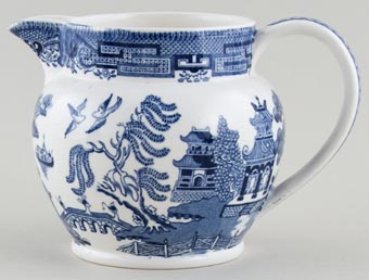 Wedgwood Willow Jug or Pitcher c1950