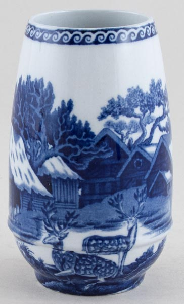 Wedgwood Fallow Deer Vase C1924 Lovers Of Blue And White