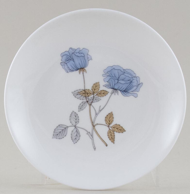 Wedgwood Ice Rose colour Plate