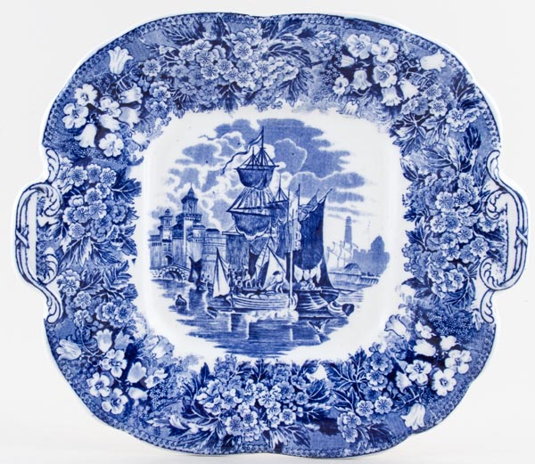 Wedgwood Ferrara Bread and Butter or Cake Plate c1915