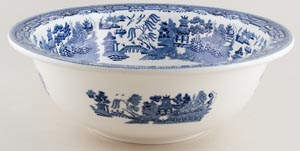 Wedgwood Willow Wash Bowl c1930