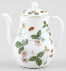 Wedgwood Wild Strawberry colour Miniature Coffee Pot