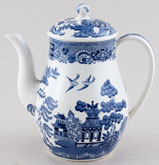 Wedgwood Willow Coffee Pot c1950
