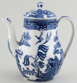 Wedgwood Willow Coffee Pot c1950s