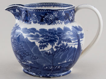 Wedgwood Landscape Jug or Pitcher c1920s