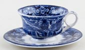 Wedgwood Ferrara Toy Cup and Saucer c1910