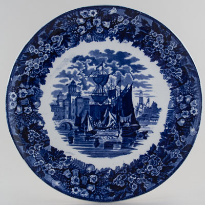 Wedgwood Ferrara Wall Plaque c1910