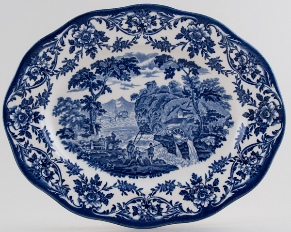 Wedgwood Water Mill Platter c1997