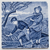 Wedgwood Old English Tile March c1920s