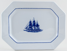 Wedgwood American Clipper Meat Dish or Platter Ann McKimm c1980