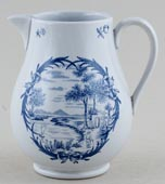 Wedgwood Unidentified Pattern Jug or Creamer c1910