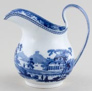 Wedgwood Blue Rose Border Jug or Pitcher c1835