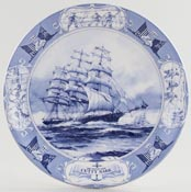 Wedgwood Great Racing Clippers Plate Cutty Sark c1996