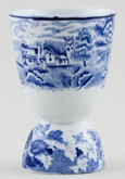Woods English Scenery Egg Cup Double c1930s