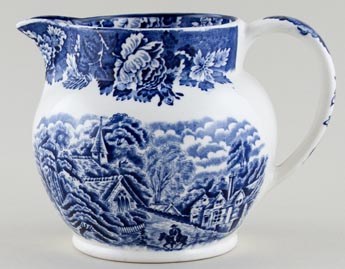 Woods English Scenery Jug or Pitcher c1930s