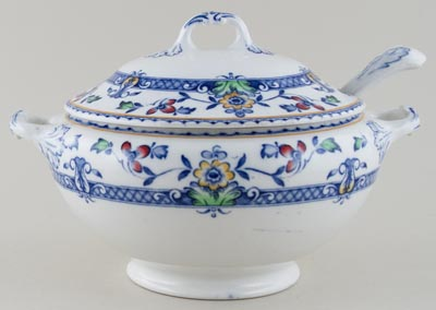 Winkle Zeeland colour Soup Tureen c1920s
