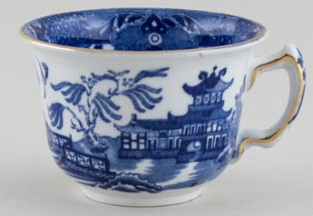 Burgess and Leigh Willow Teacup c1930s