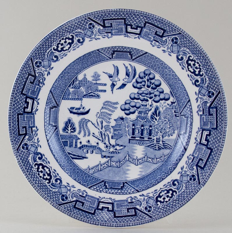 Midwinter Willow Plate c1950s
