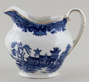 Burgess and Leigh Willow Jug or Creamer c1980