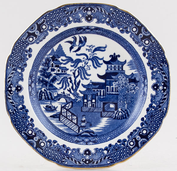 Burgess and Leigh Willow Plate c1950s