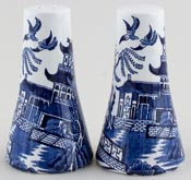 Burgess and Leigh Willow Salt and Pepper Pots or Shakers c1950