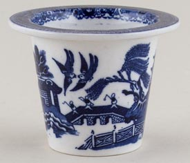 Royal Doulton Willow Meat Pot c1910