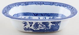 Adams Willow Pie Dish c1934