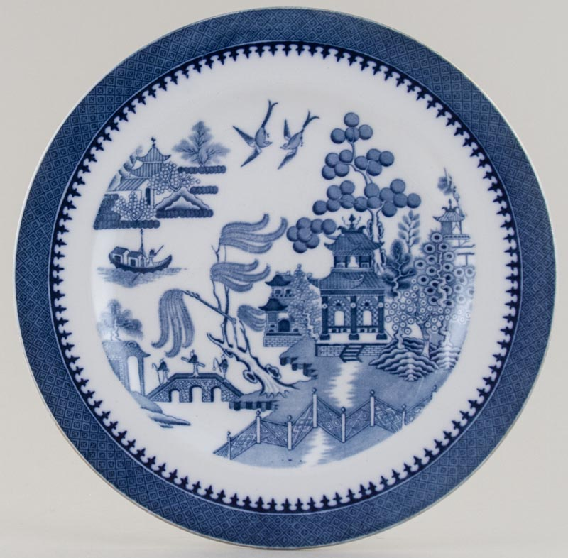 Minton Willow Plate c1930s