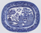Meat Dish or Platter c1894