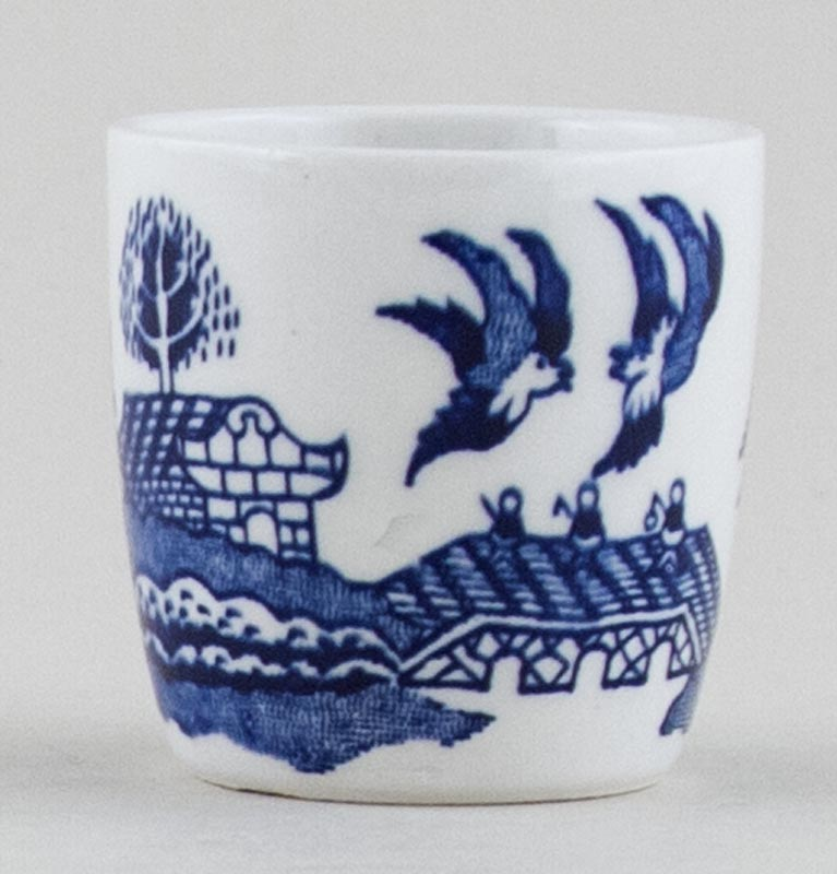 Unattributed Maker Willow Egg Cup c1970s