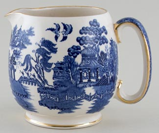 Sadler Willow Jug or Pitcher c1950s