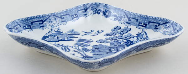 Unattributed Maker Willow Dish c1820