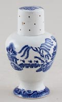 Unattributed Maker Willow Pepper or Spice Pot c1840