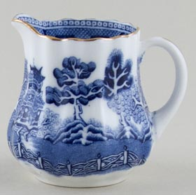 Royal Doulton Willow Jug or Creamer small c1920s