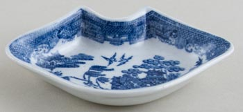 Unattributed Maker Willow Dish small c1820