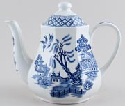Meakin J and G Willow Teapot c1970