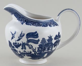 Unattributed Maker Willow Jug or Pitcher c1970s