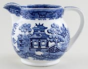 Bourne and Leigh Willow Jug or Pitcher c1920s