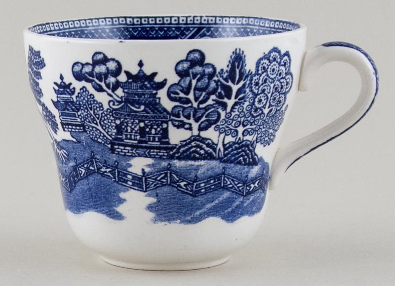 Unattributed Maker Willow Breakfast Cup c1950s