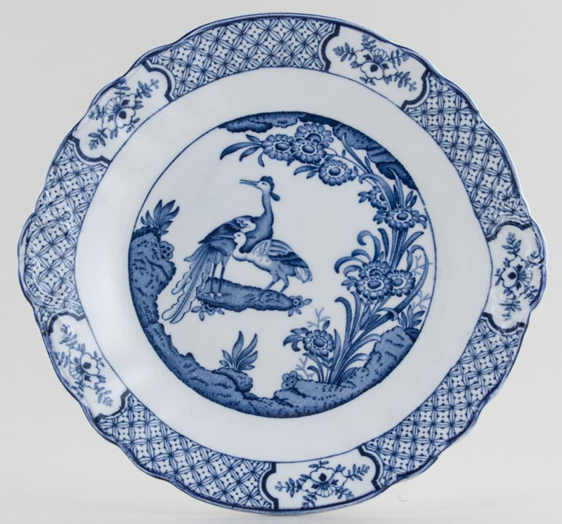 Woods Yuan Bread and Butter Plate or Cake Plate c1930